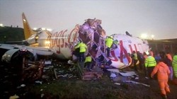 В Стамбуле потерпел аварию авиалайнер (ФОТО)