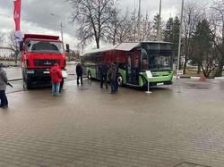 Минский автозавод представил свои новинки в столице Беларуси