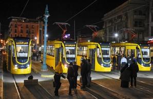 В египетской Александрии презентовали еще одну партию новых украинских трамваев