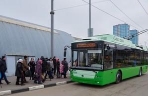 Власти Харькова планируют обновить до 80% троллейбусного парка