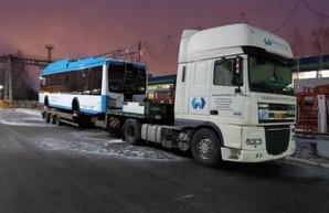 Новые белорусские троллейбусы выйдут на маршруты Мариуполя уже в марте