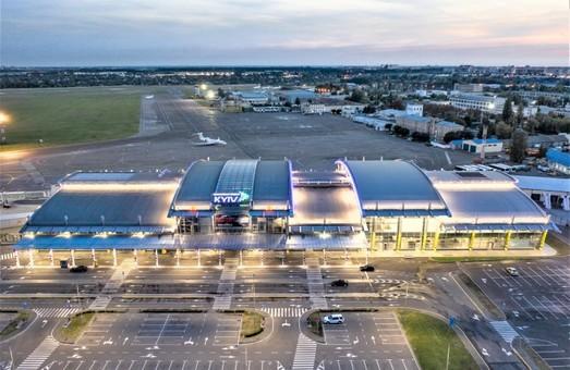 Столичный аэропорт имени И. Сикорского в январе снизил свой пассажиропоток на 20 %