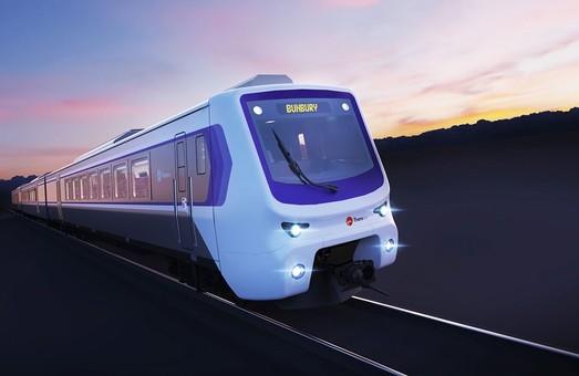 «Alstom» показал, как будет выглядеть новый пригородный дизель-поезд для Западной Австралии