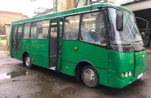 В Луцке построили электробус на базе автобуса «Богдан» А092