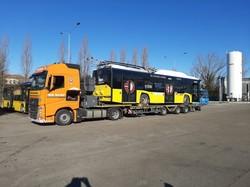 Первый троллейбус «Solaris Trollino» прибыл в итальянский город Модену