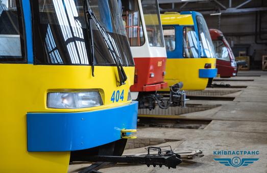 В Киеве обещают развивать левобережную трамвайную сеть