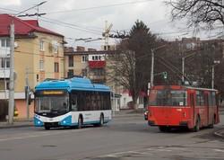 В Луцке уже обкатывают новые троллейбусы для Мариуполя