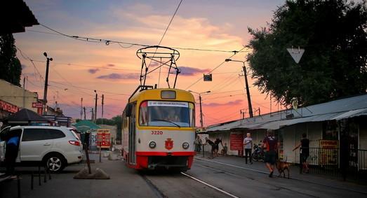 Как будут ходить одесские трамваи на время реконструкции Новощепного Ряда