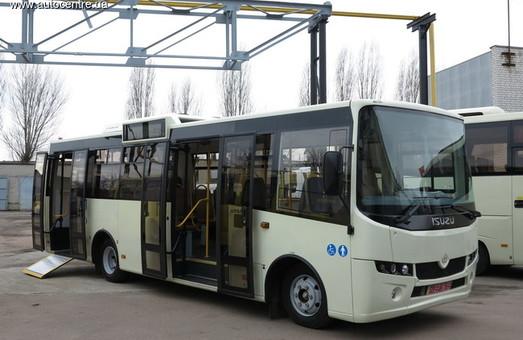 Город Каменское в Днепропетровской области хочет взять в лизинг еще 30 автобусов
