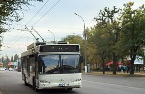 Николаев будет получать купленные за средства кредита ЕБРР троллейбусы партиями по 20 машин