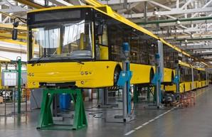 Автозавод компании «Богдан Моторс» продолжает собирать троллейбусы для Киева