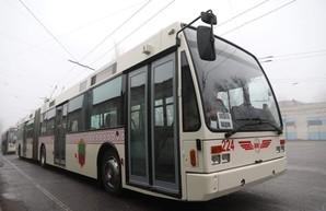 Бэушные троллейбусы для Запорожья подорожали