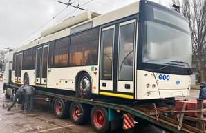 Кривой Рог получил уже третью партию троллейбусов, купленных за средства кредита ЕБРР