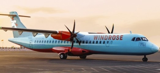 Авиакомпания «Windrose» уже весной получит четыре самолета ATR 72-600