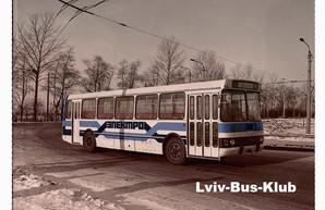 Перший український гібридний автобус створили іще на початку 1980-х