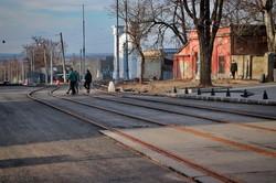 Как продвигается ремонт спуска Маринеско в Одессе (ФОТО)