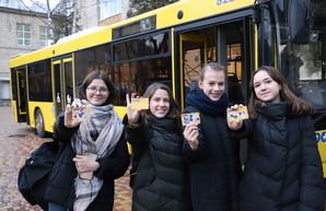 В городском  транспорте Киева ученический «электронный билет» начал работать в тестовом режиме