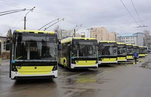 Львов уже получил 30 новых троллейбусов, купленных за средства кредит Европейского банка реконструкции и развития