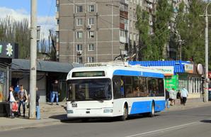 В Днепре в кабинах троллейбусов установят кондиционеры