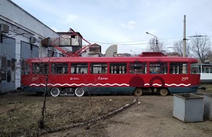 В Днепре разработали городскую ливрею для трамваев