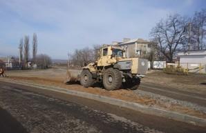 Где в Одесской области ремонтируют дороги