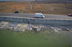 В «Укравтодоре» открестились от проблемной дамбы Хаджидейского лимана в Одессе
