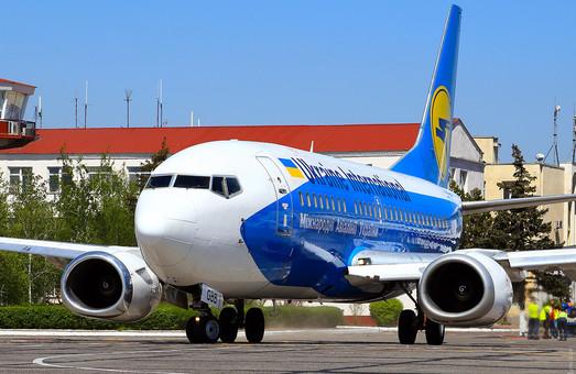 «Международные авиалинии Украины» временно прекращают полеты из Одессы в Стамбул и Тель-Авив