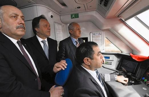 В Турции состоялась тестовая поездка по участку высокоскоростной железной дороги Анкара – Сивас
