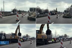 На трассе М-05 Киев – Одесса введены ограничения движения
