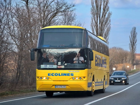 Украина прекращает международные автобусные и железнодорожные рейсы