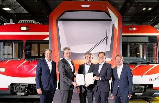 Компания «Stadler» построит проезда для зубчатой железной дороги «Matterhorn Gotthard Bahn»