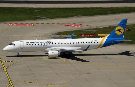 «Международные авиалинии Украины» будут выполнять внутренние украинские авиарейсы несмотря на карантин
