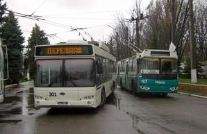 В Бахмуте Донецкой области остановился городской электротранспорт