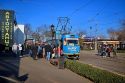 Как одесский электротранспорт работает в режиме карантина (ФОТО, ВИДЕО)