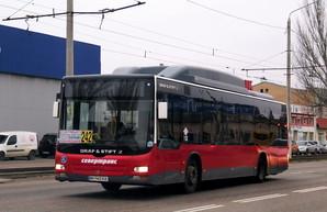 Большинство частных автобусных перевозчиков Одессы вчера выпустили на линию менее половины автобусов