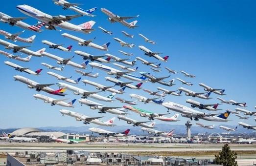 Аэропорты Украины сегодня принимают 45 авиарейсов из 10 стран мира