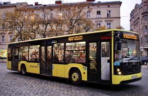 Во Львове в воскресенье выехало 60% коммунального транспорта и только 6% частных автобусов