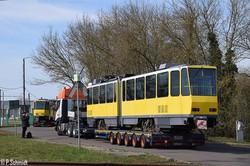 Трамваи «Tatra KT4DM» из Берлина уже привезли в Магдебург