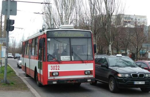 В среду 25 марта в Николаеве ограничат бесплатный проезд для льготников