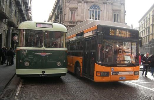 Неаполь начинает строить новую троллейбусную линию