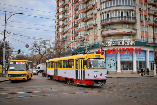 Общественный транспорт Одессы переходит на специальный режим перевозок