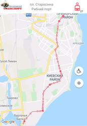 Общественный транспорт Одессы в чрезвычайной ситуации: схема маршрутов и порядок проезда