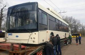 В Кривой Рог прибывают новые троллейбусы из четвертой партии