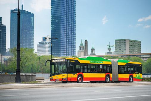 Компания «Solaris» начала поставку электробусов для Варшавы