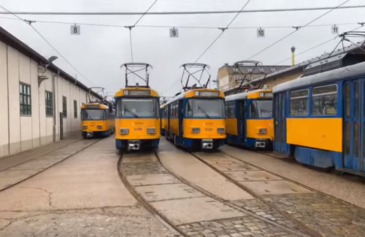 Днепр закупит трамваи из Лейпцига в лизинг
