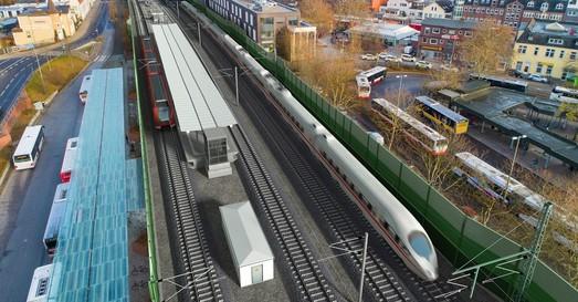 «Deutsche Bahn» в прошлом году перевез рекордное количество пассажиров в междугороднем сообщении