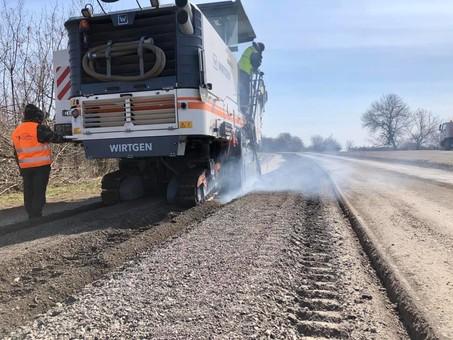 В Одесской области тратят почти 789 миллионов на ремонт дорог