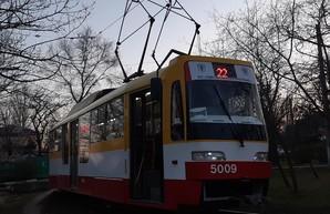 В Одессе с апреля запущен маршрут трамвая от Слободки в Лузановку