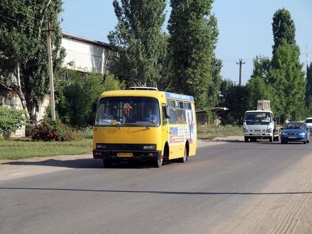 В Одессе запускают маршрут автобуса на поселок Большевик