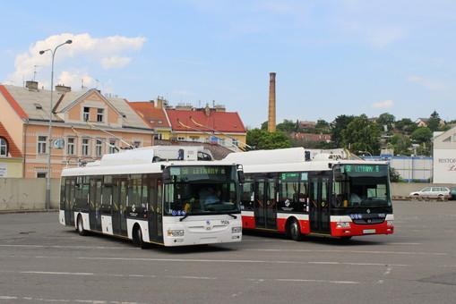 В столице Чехии представили масштабный проект замены автобусов на троллейбусы